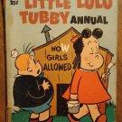 Dell Giant comic - Little Lulu Tubby Annual #2 (1954) comic book, Fair condition