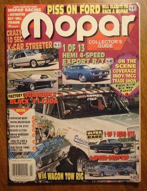 Mopar Collector's Guide magazine July 2000 - Hemi GTX, 10 second