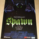 Spawn HBO TV series poster full size, never displayed, rolled, Todd McFarlane comic book
