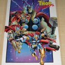 Marvel comics Thor Corps poster, 22x34, rolled, never displayed