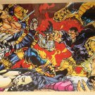 Marvel comics X-Force poster, 22x34, rolled, never displayed