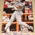Don Mattingly poster, 23x35, rolled, Never displayed, New York Yankees, 1989