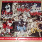 MLB Baseball cards promo poster KIT, never displayed, rolled, 26x26, double sided, 3 posters