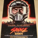 Savage Dawn movie poster, 24x36, rolled, George Kennedy, Karen Black