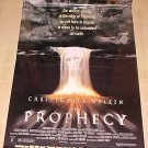 Prophesy movie poster, 27x41, never displayed, rolled, Christopher Walken