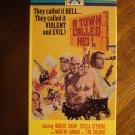 A Town Called Hell VHS video tape movie film, Robert Shaw, Stella Stevens, Telly Savalas