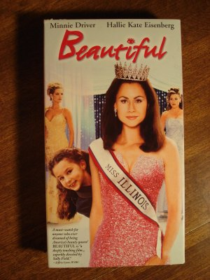 Beautiful VHS video tape movie film, Minnie Driver, Hallie