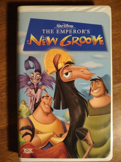 Walt Disney - The Emperor's New Groove VHS animated video