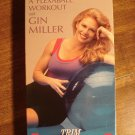 Gin Miller - A Flexball workout exercise VHS video tape movie film, Tone, trim, tighten