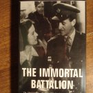The Immortal Battalion VHS video tape movie film, David Niven, Peter Ustinov, Trevor Howard