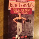Jane Fonda's Walk to The Music Fitness Tread workout exercise VHS video tape for treadmills