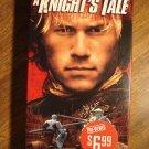 A Knight's Tale VHS video tape movie film, Heath Ledger, Mark Addy