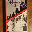 The March of Time: America At War documentary VHS video tape movie film, WW II World War 2