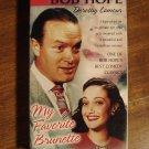 My Favorite Brunette VHS video tape movie film Bob Hope Dorothy Lamour Peter Lorre Lon Chaney Jr