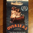 Overseas VHS video tape movie film, Nicole Garcia, Marianne Basler, Brigitte Rouan