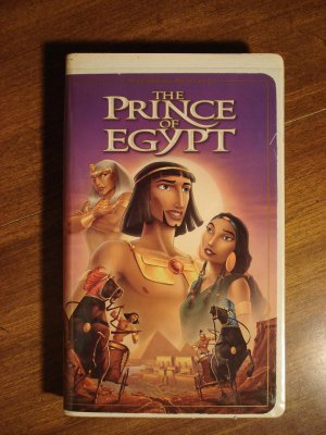 Dreamworks - The Prince of Egypt animated VHS video tape