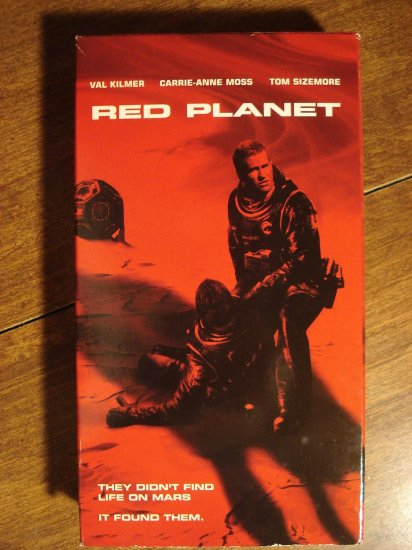 Red Planet Vhs Video Tape Movie Film Val Kilmer Carrie