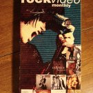 Rock Video Monthly - Pop Releasesl VHS music tape movie film, Whitney Houston, Bee Gees, Tom Petty