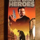 South Bronx Heroes VHS video tape movie film, Brendan Ward, Mario Van Peebles, Box version #2