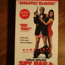 Spy Hard promo screener VHS video tape movie film, Leslie Nielson,