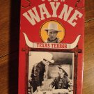 Texas Terror VHS video tape movie film, John Wayne, Gabby Hayes, Buffalo Bill jr., Box version 2