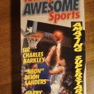 Totally Awesome Sports VHS video tape movie film, Charles Barkley, Deion & Barry Sanders