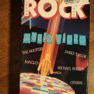 Top Rock VHS music video tape movie film, James Taylor, Cheap Trick, The Hooters, Bangles