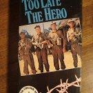 Too Late The Hero VHS video tape movie film, Michael Caine, Cliff Robertson, Henry Fonda