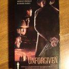 The Unforgiven VHS video tape movie film Clint Eastwood Gene Hackman Morgan Freeman Richard harris