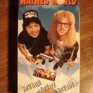 Wayne's World VHS video tape movie film, Mike Myers, Dana Carvey, Tia Carrere, Donna Dixon