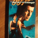 The World Is Not Enough VHS video tape movie film, James Bond 007, Pierce Brosnan, Denise Richards