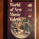 World of New Music Videos preview sampler VHS video tape movie film,