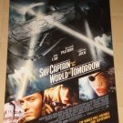 Sky Captain & The World of Tomorrow movie poster, 27x40, rolled, Gwyneth Paltrow, Angelina Jolie