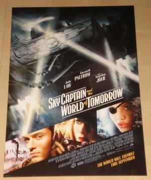 Sky Captain & The World of Tomorrow MINI movie poster 13x19.5 rolled Gwyneth Paltrow, Angelina Jolie