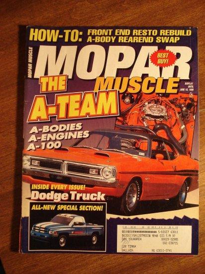 Mopar Muscle magazine June/July 1996, Front end resto, A-Bodies, A-engines, Dodge truck