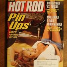 Hot Rod magazine April 2001, Miss Hot Rod pin up girls, 9 inch rear ends, HP vs torque