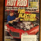 Hot Rod magazine December 1998, fuel injection retrofit, PS swap, MSD ignition install