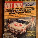 Hot Rod magazine June 1973, Chevy & Ford & Dodge vans test, painting your car, Daytona bike racing