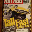 Hot Rod magazine August 2000, Mustang GT bolt ons, 4 speed tranny swap, straight axle racers