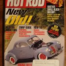 Hot Rod magazine February 2001, small block buildup, 1940 coupe, modern induction for old cars