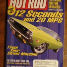 Hot Rod magazine march 2001, Electronic ignition upgrades, pump gas secrets, brakes