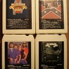 Alabama 8-Track tape assortment 4 tapes - Feels so right, Mountain music, MORE