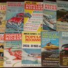 Popular Mechanics magazine - 13 issues from the 1960's - cars, tools, inventions, more