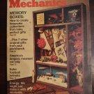 Popular Mechanics magazine - November 1974 memory boxes, snowmobiles, projects, more