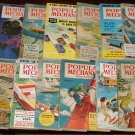 17 1950's issues of Popular Mechanics magazine - cars, inventions, tools, more!