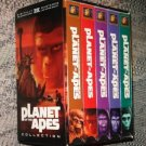 Original Planet of the Apes 5 VHS video tape set movie film w/ slipcase Roddy McDowell Kim Hunter