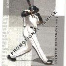 2002 Fleer Box Score promo promotional baseball card #124 Barry Bonds NM/M