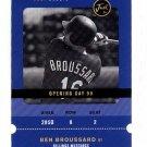 2000 Just Minors promo promotional baseball card Ben Broussard NM/M