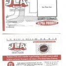 DC comics & Wizard magazine JLA Identification Card NM/M
