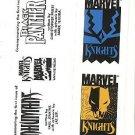 Marvel Comics Marvel Knights promo promotional bookmark, 1998